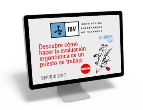 Abierto el plazo para cursos de ergonomía impartidos por el IBV