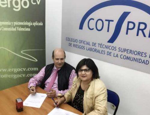 ErgoCV yCOTSPRL firman un convenio de colaboración
