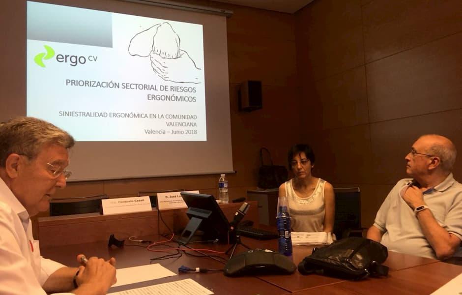 Taller de priorización sectorial de riesgos ergonómicos y psicosociales