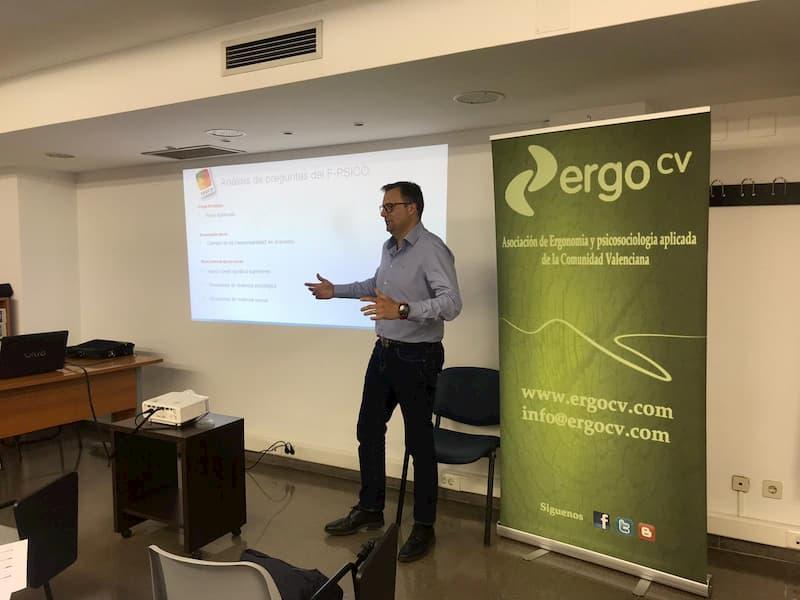 Germán Cañavate Buchón, vocal de ErgoCV y experto en evaluación de riesgos psicosociales