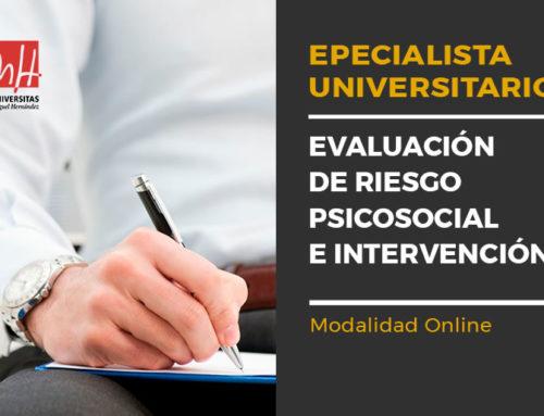 Especialízate en evaluación e intervención psicosocial